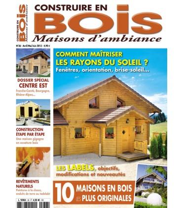 Construire en Bois Maisons d'Ambiance N°36
