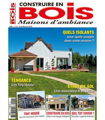Construire en Bois Maisons d'Ambiance N°056
