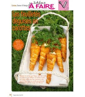 Idées a faire N°20 - Cuisine - Feuilletés Carottes