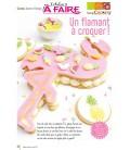 Idées a faire N°20 - Cuisine - Gâteau Flamant Rose