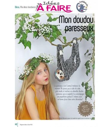 Idées a faire N°20 - Déco - Mon doudou paresseux