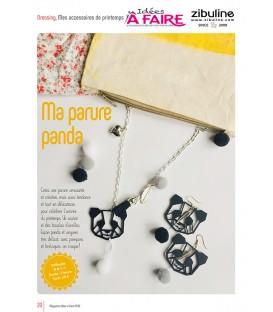 Idées a faire N°20 - Dressing - Parure Panda