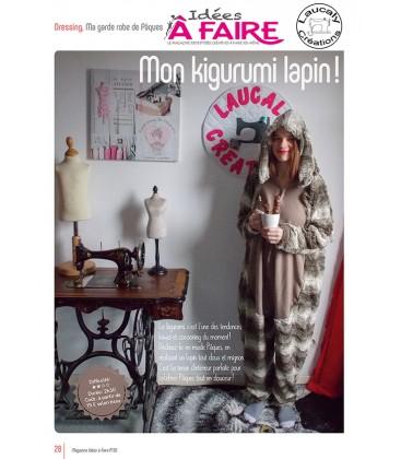 Idées a faire N°20 - Dressing - Kigurumi lapin
