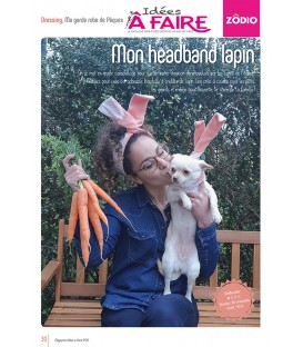 Idées a faire N°20 - Dressing - Headband lapin