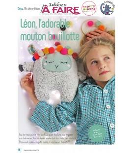 Idées a faire N°19 - Dressing - Mouton bouillotte