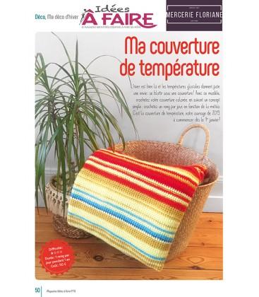 Idées a faire N°19 - Dressing - Couverture de temperature