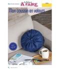 Idées a faire N°19 - Dressing - Coussin velours