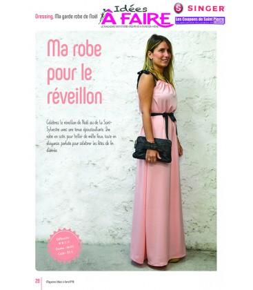 Idees a faire N°18 - Dressing_Robe Coupon de Saint Pierre