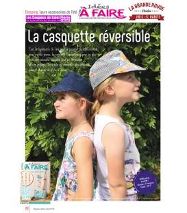 Idées a faire N°22- Dressing – La casquette réversible