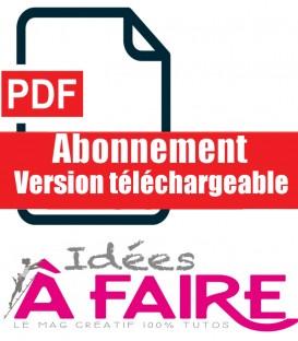 Idées à Faire Abonnement Version téléchargeable PDF